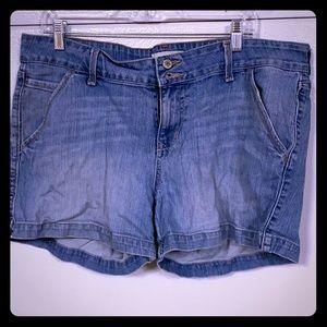 Old navy 16 jean shorts